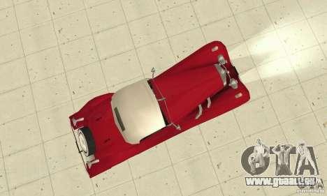 Mercedes-Benz 500K pour GTA San Andreas vue de droite