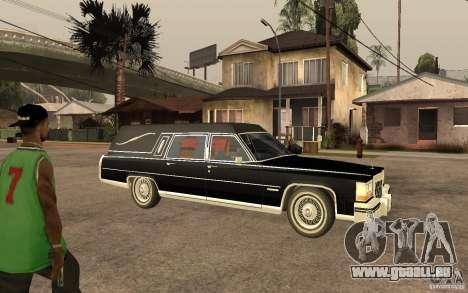 Cadillac Fleetwood Hearse 1985 für GTA San Andreas