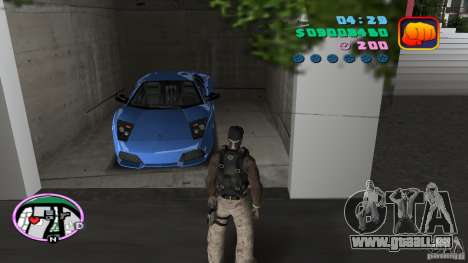 50 Cent Player für GTA Vice City zweiten Screenshot