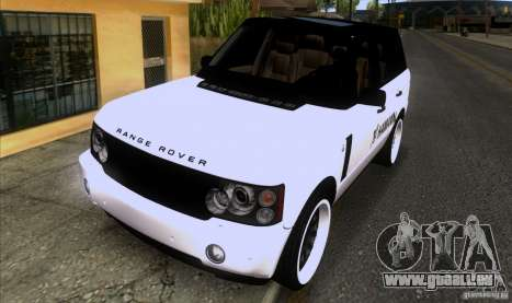 Range Rover Hamann Edition für GTA San Andreas