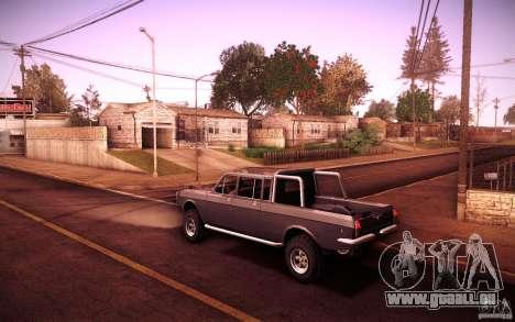 GAZ 2402 4 x 4 PickUp für GTA San Andreas rechten Ansicht