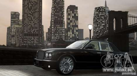 Bentley Arnage T v 2.0 für GTA 4 linke Ansicht