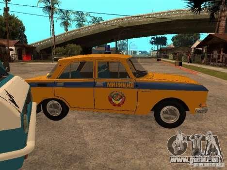 AZLK 2140 Miliz frühe version für GTA San Andreas rechten Ansicht