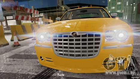 Chrysler 300c 3.5L TAXI FINAL für GTA 4 linke Ansicht