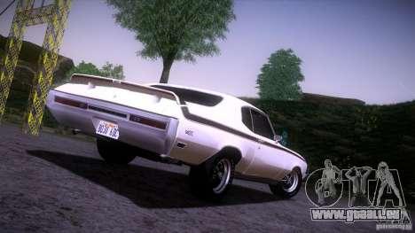 Buick GSX 1970 für GTA San Andreas rechten Ansicht