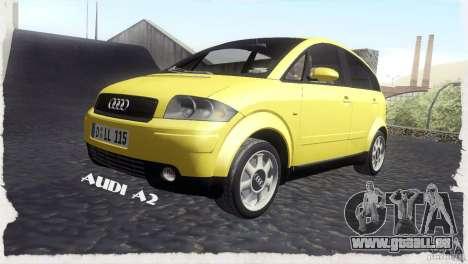 Audi A2 für GTA San Andreas