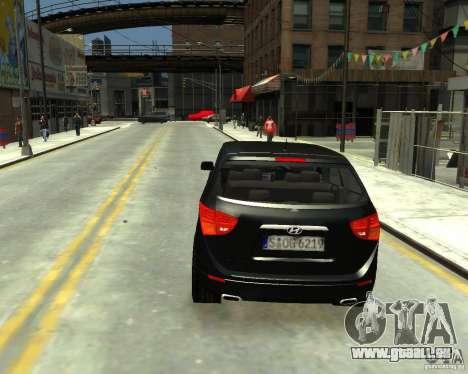 Hyundai IX55 pour GTA 4 est une gauche