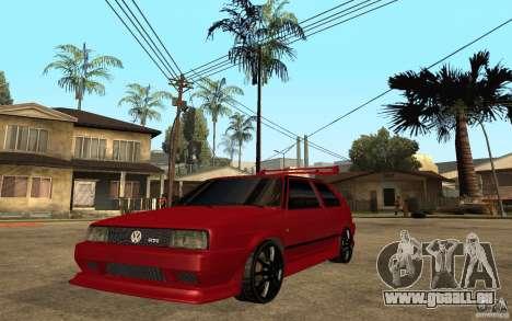 Volkswagen Golf 2 GTI Tuned für GTA San Andreas