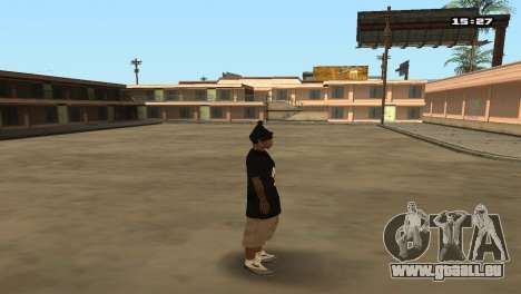 Skin Pack Ballas für GTA San Andreas elften Screenshot