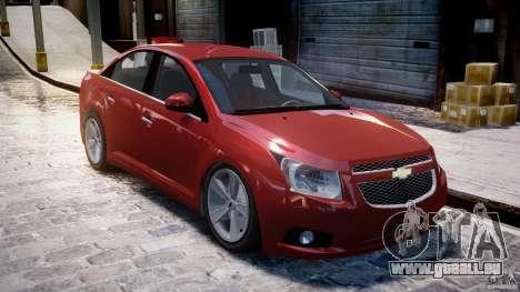Chevrolet Cruze pour GTA 4 est une gauche