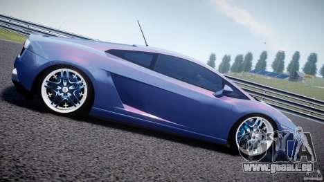 Lamborghini Gallardo LP 560-4 DUB Style für GTA 4 linke Ansicht