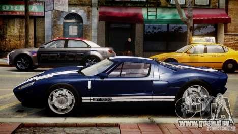 Ford Hennessey GT1000 2006 v2.0 EPM pour GTA 4 est une gauche