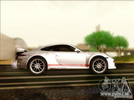 Porsche 911 Carrera S (991) Snowflake 2.0 für GTA San Andreas Rückansicht