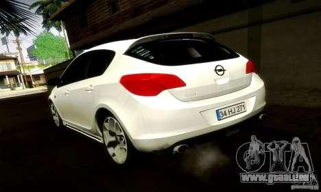 Opel Astra Senner pour GTA San Andreas vue de droite