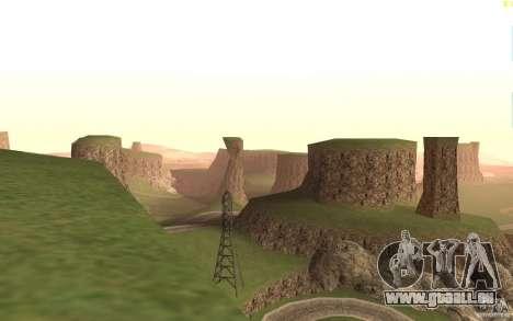 New desert pour GTA San Andreas troisième écran