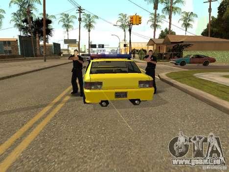 Sultan USSR Police für GTA San Andreas rechten Ansicht