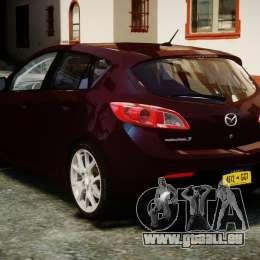 Mazda Speed 3 [Beta] für GTA 4 hinten links Ansicht