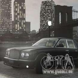 Bentley Arnage T v 2.0 für GTA 4 Innenansicht