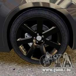 Chrysler 300 SRT8 2012 für GTA 4 Innenansicht