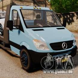Mercedes-Benz Sprinter 3500 Car Transporter für GTA 4