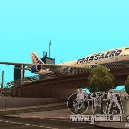 Boeing 747-400 für GTA San Andreas Rückansicht