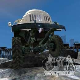 ZIL 131 pour GTA 4 roues