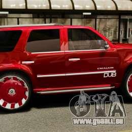 Cadillac Escalade 2011 DUB pour GTA 4 est une gauche