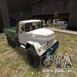 ZIL 131 pour GTA 4 est un côté