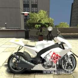 Yamaha YZR M1 MotoGP 2009 für GTA 4 linke Ansicht