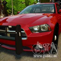 Dodge Charger RT Max FBI 2011 [ELS] pour GTA 4