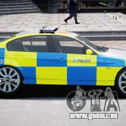 BMW 350i Indonesian Police Car [ELS] für GTA 4 linke Ansicht