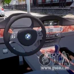 BMW 350i Indonesian Police Car [ELS] für GTA 4 rechte Ansicht