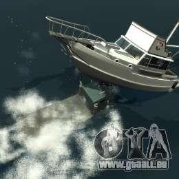 Biff boat für GTA 4 Unteransicht