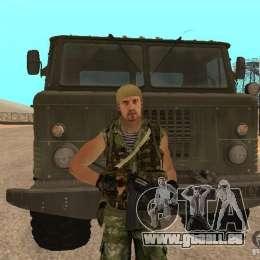 Commando russe pour GTA San Andreas