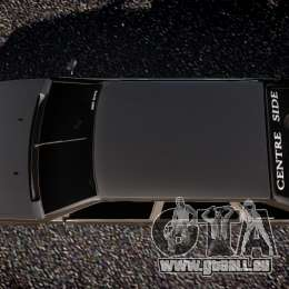 Lada VAZ 2109 pour GTA 4 vue de dessus