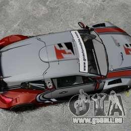 Volkswagen Scirocco BTCS MkIII 2010 pour GTA 4 est un droit