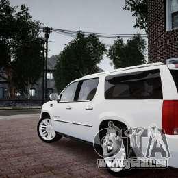 Cadillac Escalade ESV für GTA 4 linke Ansicht