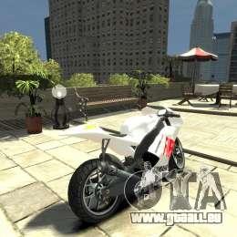 Yamaha YZR M1 MotoGP 2009 für GTA 4 hinten links Ansicht
