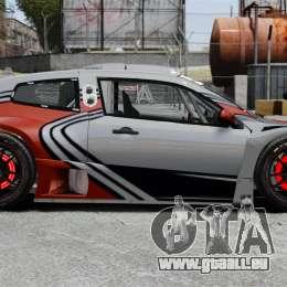 Volkswagen Scirocco BTCS MkIII 2010 pour GTA 4 est une gauche