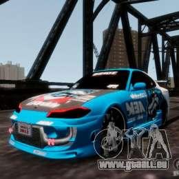 Nissm Silvia S15 Blue Tiger für GTA 4
