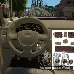 VAZ Lada 2170 Priora pour GTA 4 roues