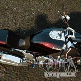Ducati Diavel Carbon 2011 für GTA 4 rechte Ansicht