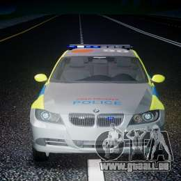 BMW 350i Indonesian Police Car [ELS] pour GTA 4 Salon