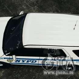 Ford Explorer NYPD ESU 2013 [ELS] für GTA 4 rechte Ansicht