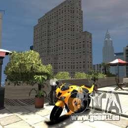 Kawasaki Ninja ZX6R 2008 Beta pour GTA 4