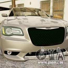 Chrysler 300 SRT8 2012 für GTA 4 hinten links Ansicht
