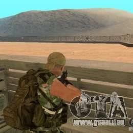 Commando russe pour GTA San Andreas troisième écran