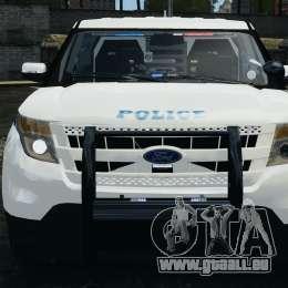 Ford Explorer NYPD ESU 2013 [ELS] pour GTA 4 est un côté