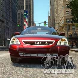VAZ Lada 2170 Priora pour GTA 4 est un droit