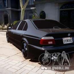 BMW M5 E39 Stock 2003 v3.0 für GTA 4 hinten links Ansicht
